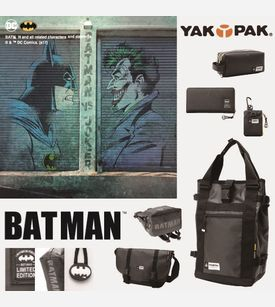BATMAN×YAKPAK コラボ